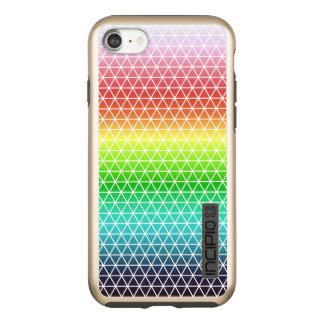 Triangle Rainbow Geometric Framework Tessellation Incipio DualPro Shine iPhone 7 Case
