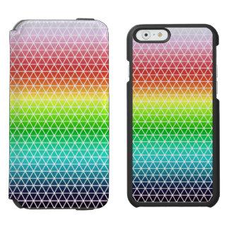 Triangle Rainbow Geometric Framework Tessellation Incipio Watson™ iPhone 6 Wallet Case