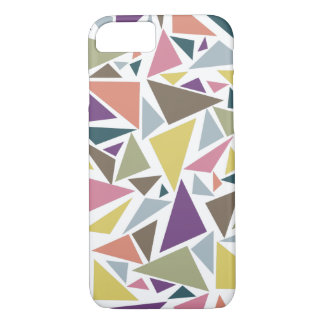 Triangle Scatter iPhone 8/7 Case