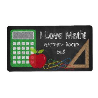 Triangle Set Square Calculator Apple Paper Clips Shipping Label