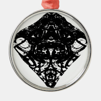 triangle Silver-Colored round decoration