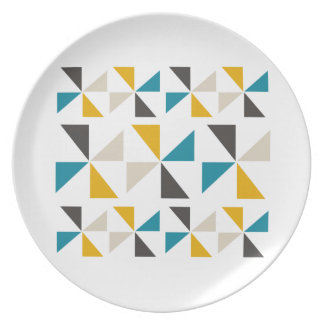 Triangle Square Plate