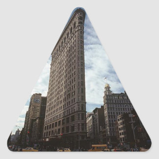 Triangle Sticker NYC Flatiron Bldg New York City