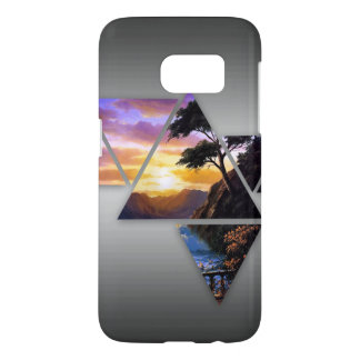 Triangle Sunset Case (Samsung Galaxy S7)