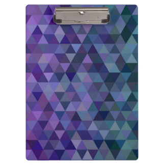 Triangle tiles clipboard