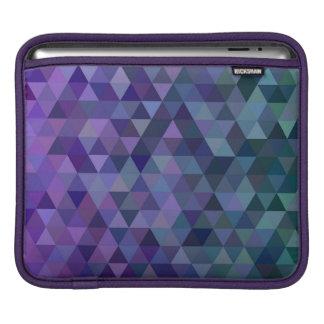 Triangle tiles iPad sleeve