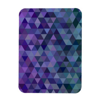 Triangle tiles magnet