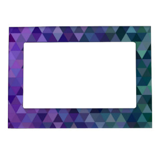 Triangle tiles magnetic frame