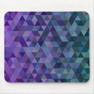 Triangle tiles mouse pad