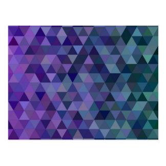 Triangle tiles postcard