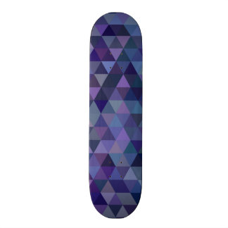 Triangle tiles skate board decks