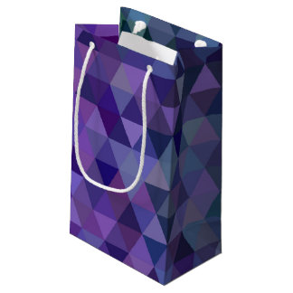 Triangle tiles small gift bag