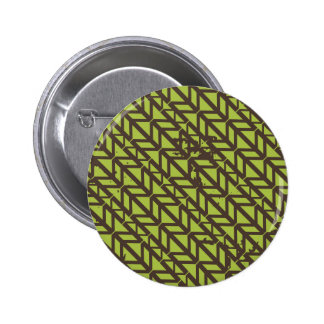 Triangle Tire Track pattern 6 Cm Round Badge