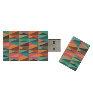 Triangle Variety USB Flash Drive Wood USB 2.0 Flash Drive