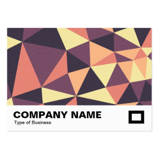 Triangles Abstract 02 Pack Of Chubby Business Cards