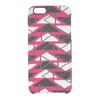 Triangles Clear iPhone 6/6S Case