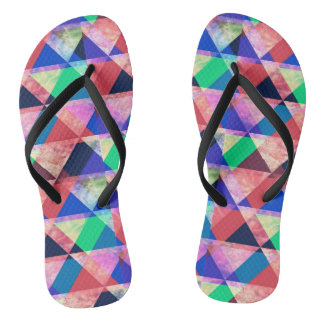 Triangles Colorful Thongs