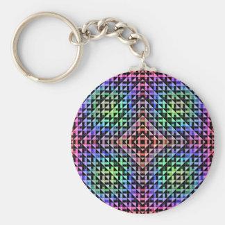 Triangles Key Ring
