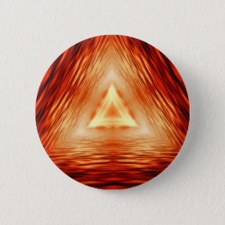 Triangles of fire 6 cm round badge