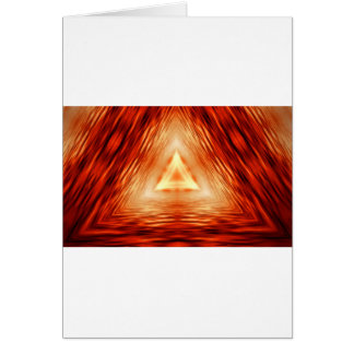 Triangles of fire card