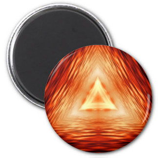 Triangles of fire magnet