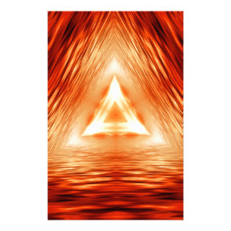 Triangles of fire stationery