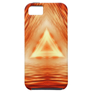 Triangles of fire tough iPhone 5 case