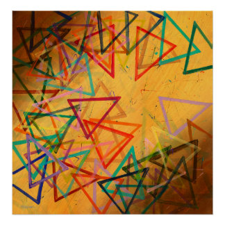 Triangles - poster