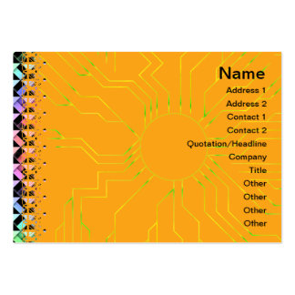 Triangles Rotated Business Card