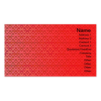 Triangles Rotated Inverted Small Pack Of Standard Business Cards