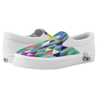 Triangles Slip-On Shoes