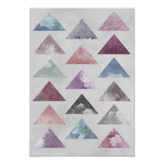 Triangles Wall Art