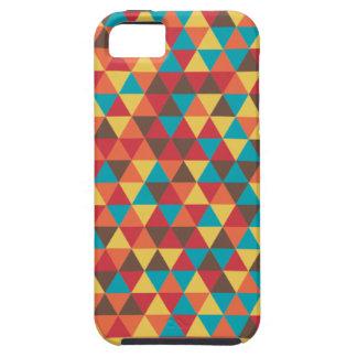 Triangular colorful iPhone 5 case