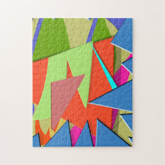 Triangular Dimension 3 Jigsaw Puzzle