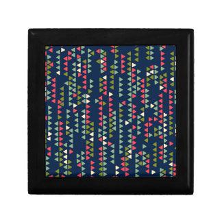Triangular pattern gift box