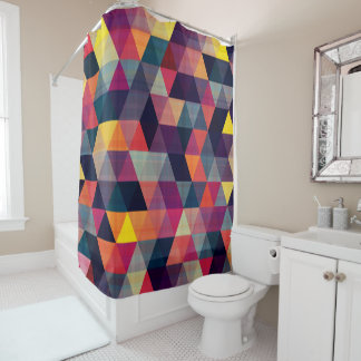 Triangular Shower Curtain