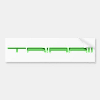 Triarii Bumper Sticker (White)