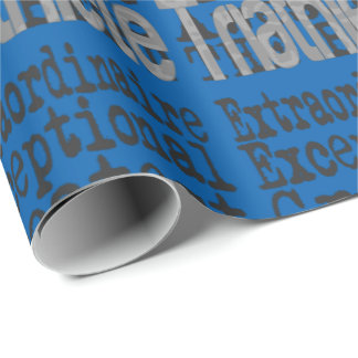 Triathlete Extraordinaire Wrapping Paper