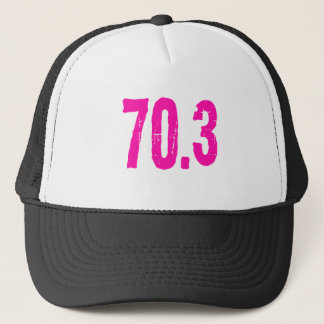 triathlon 70.3 trucker hat