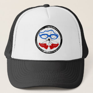 Triathlon cool design trucker hat