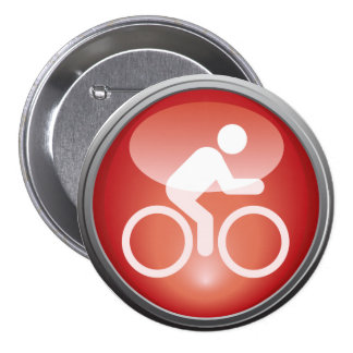 Triathlon CYCLE Race Day Button