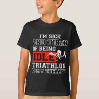 triathlon  design T-Shirt