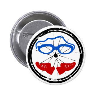 Triathlon Freak logo Pins