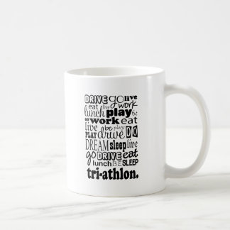 Triathlon Gift Coffee Mug