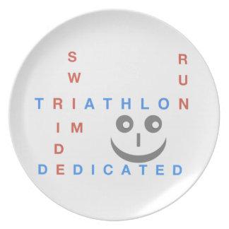 Triathlon I'm Dedicated Plate