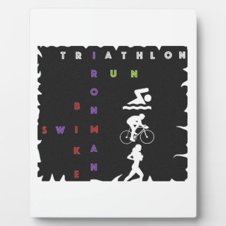 Triathlon Ironman Plaque