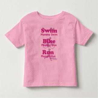 Triathlon Mommy T Shirts