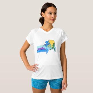 Triathlon Solid Women T-Shirt