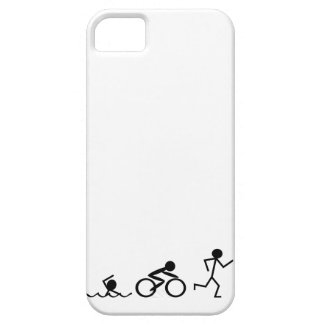 Triathlon Stick Figures iPhone 5 Cover