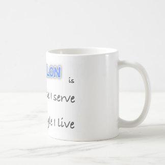 TRIATHLON - The purpose I serve Coffee Mug